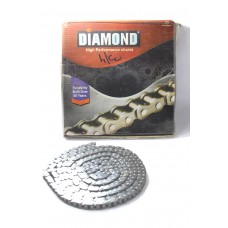 Roller Chain Single Diamond 10Ft Long